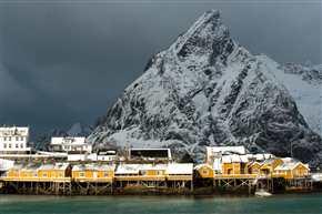 Rorbu auf Sakrisøy, Lofoten