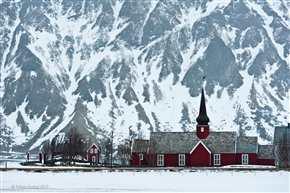 Kirche von Flakstad, Lofoten