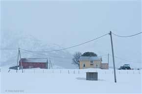 Bauernhof bei Sandsletta, Austvågøya/Lofoten